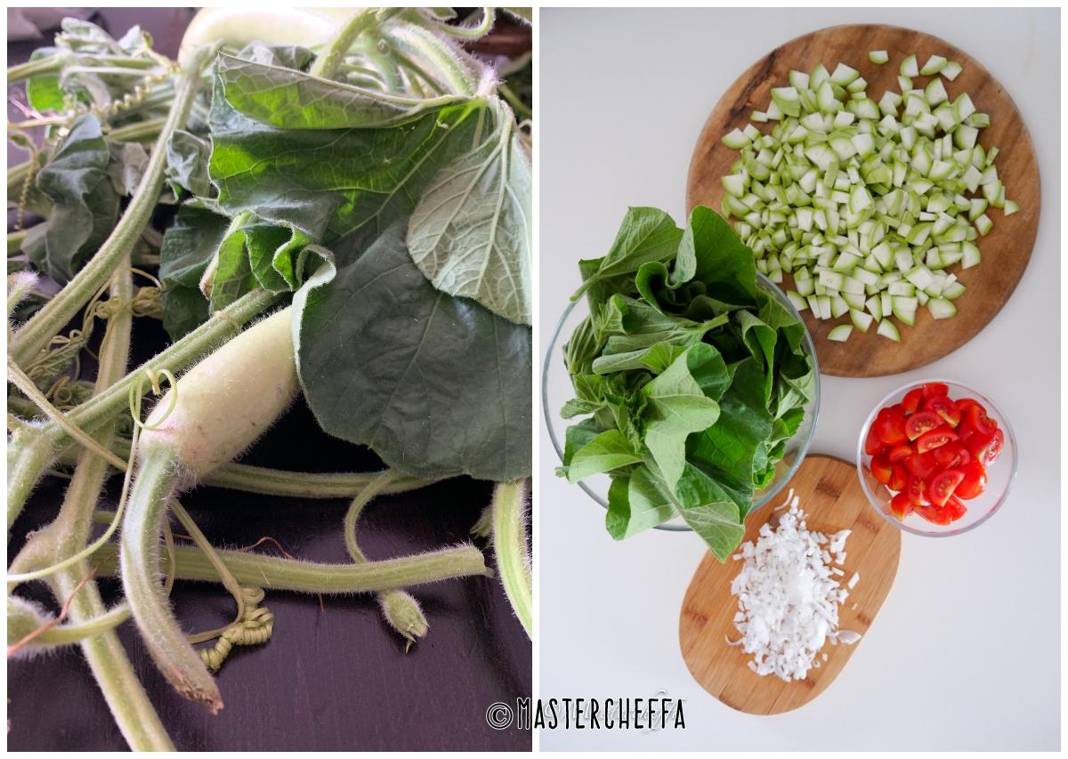 minestra cucuzza e tinniruma passo passo 1