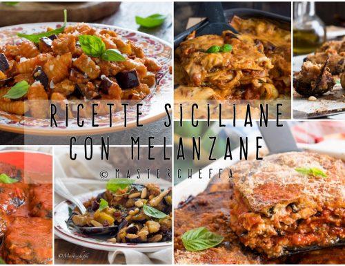 Ricette siciliane con le melanzane