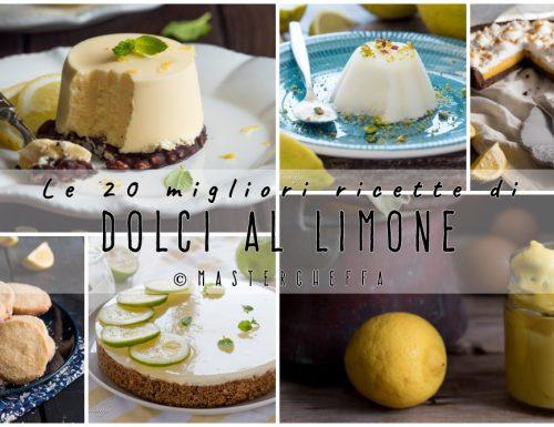 Dolci al limone, le 20 migliori ricette