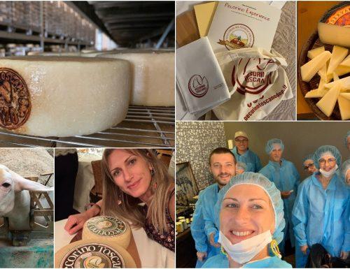 Un blogtour alla scoperta del Pecorino Toscano DOP