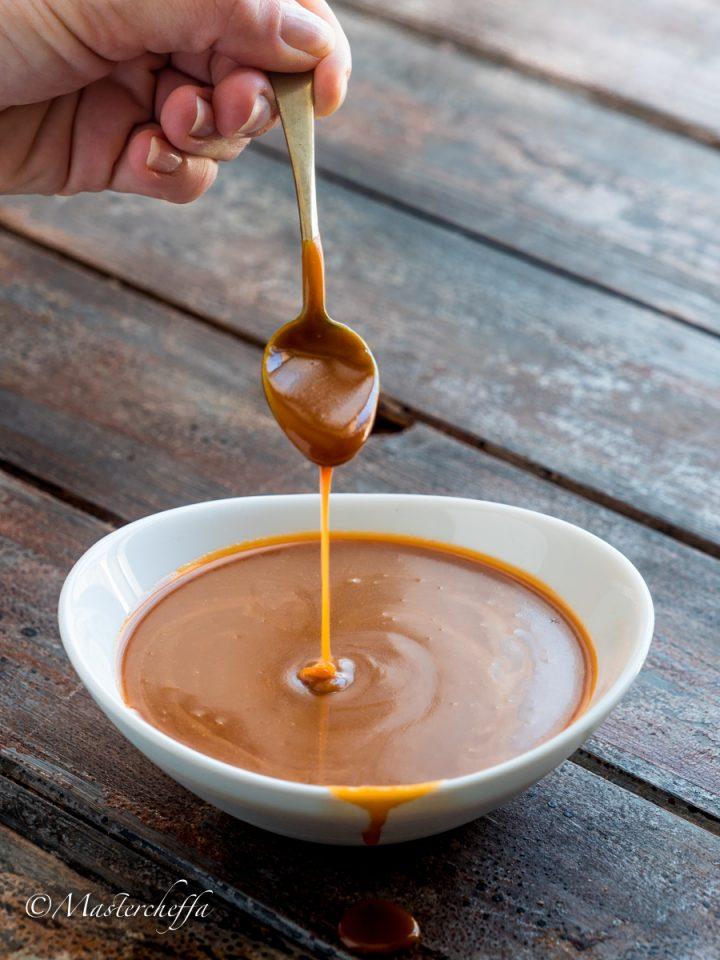 Salsa mou (salsa al caramello)