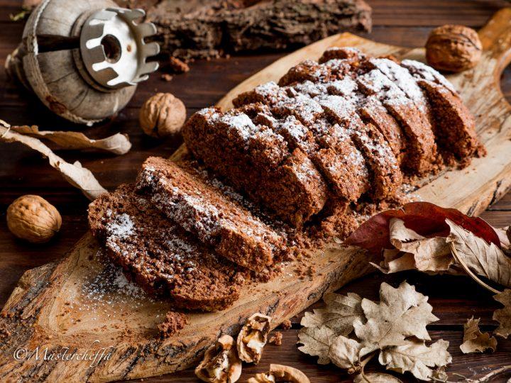 Biscottoni da inzuppo noci e cacao