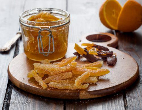 Come fare le scorzette d'arancia candite