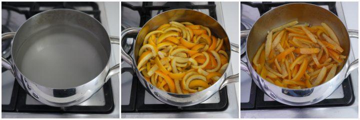 scorzette d'arancia candite passo passo 2