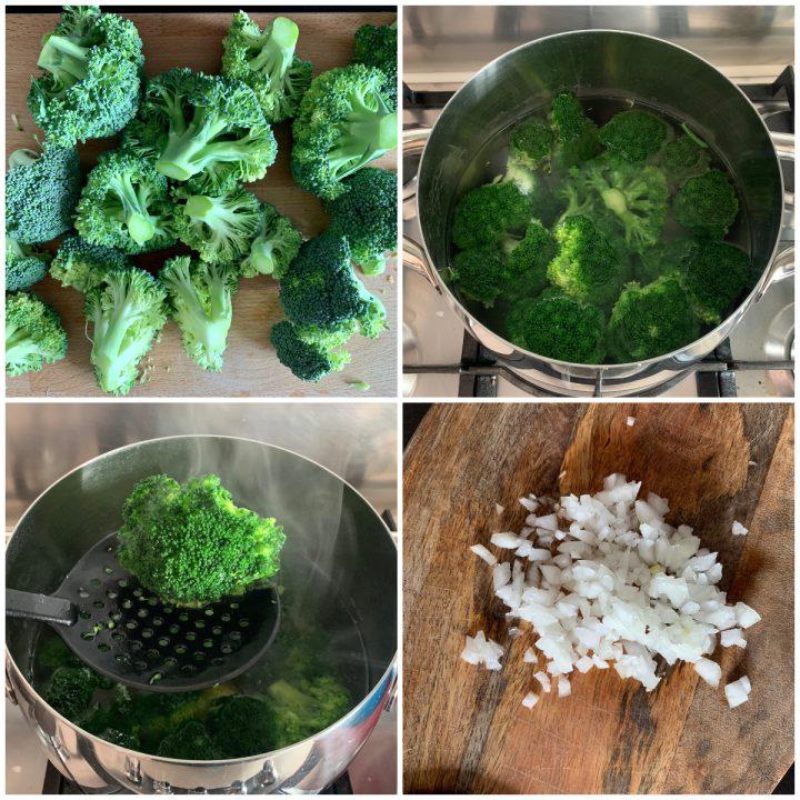 Pasta broccoli e ricotta - pasta scamuzza e ricotta, passo passo 1