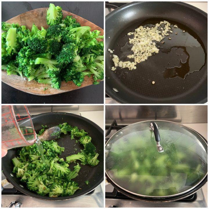 Pasta broccoli e ricotta - pasta scamuzza e ricotta, passo passo 2