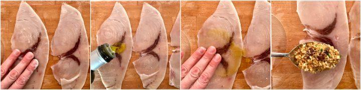 Spiedini di pesce spada alla palermitana passo passo 3