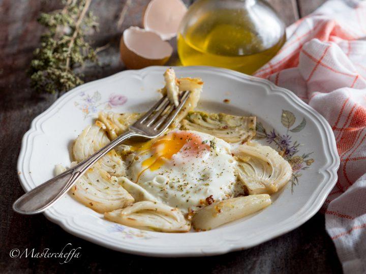 Uova ai finocchi, ricetta veloce