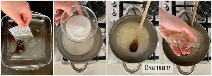 panna cotta allo yogurt passo passo 1
