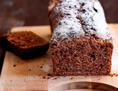 Whipped cream cake al cacao, la torta alla panna montata