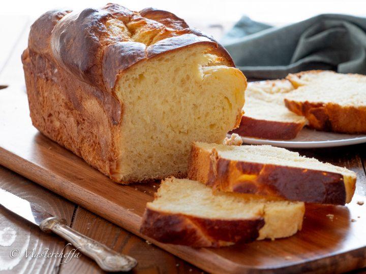 Pan brioche - ricetta francese (pain brioché)
