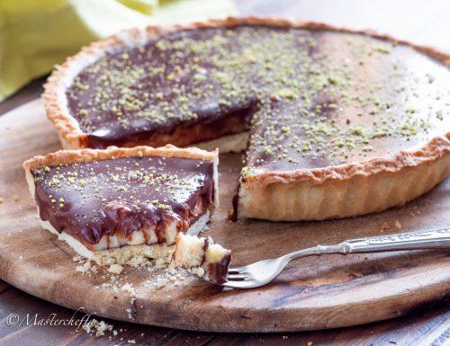 Crostata crema pasticciera e cioccolato