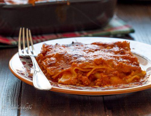 Lasagne al ragù, ricetta tradizionale
