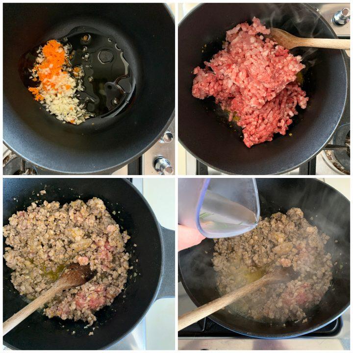 lasagne al ragù passo passo 1