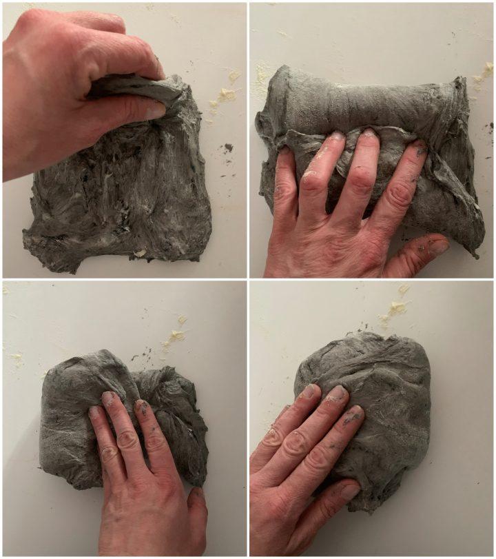 pane al nero di seppia passo passo 2
