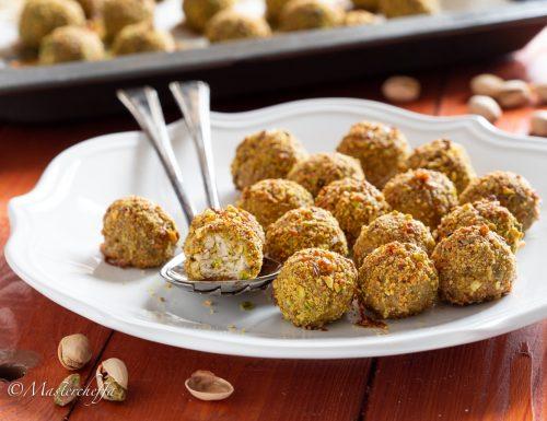 Polpette pollo e pistacchi – ricetta veloce