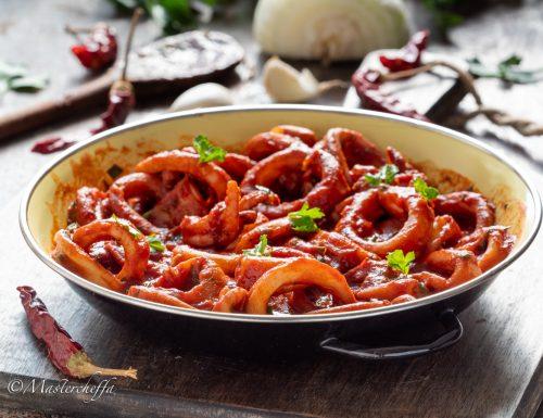 Calamari Fra Diavolo