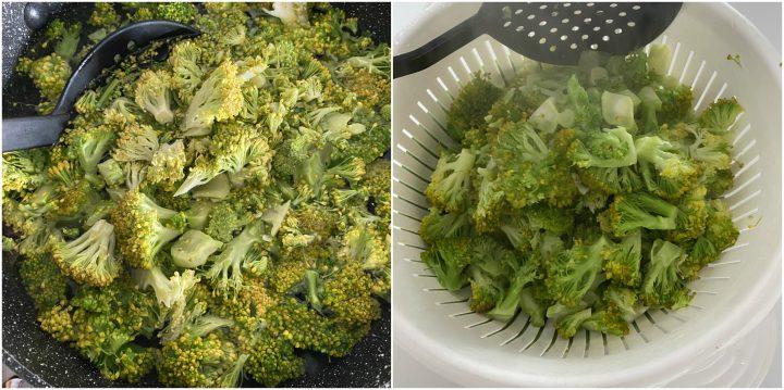 pasta fresca broccoli, salsiccia e capuliato passo passo 1