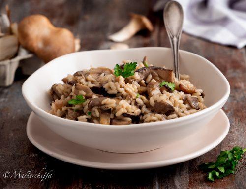 Risotto ai funghi, ricetta tradizionale