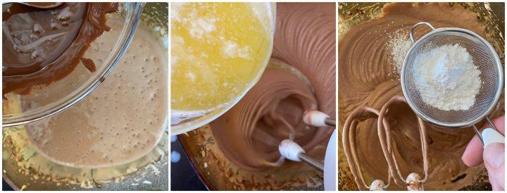 ciambellone al cioccolato glassato passo passo_3138