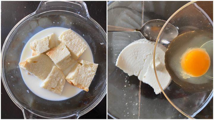 Polpette di pane e ricotta fritte