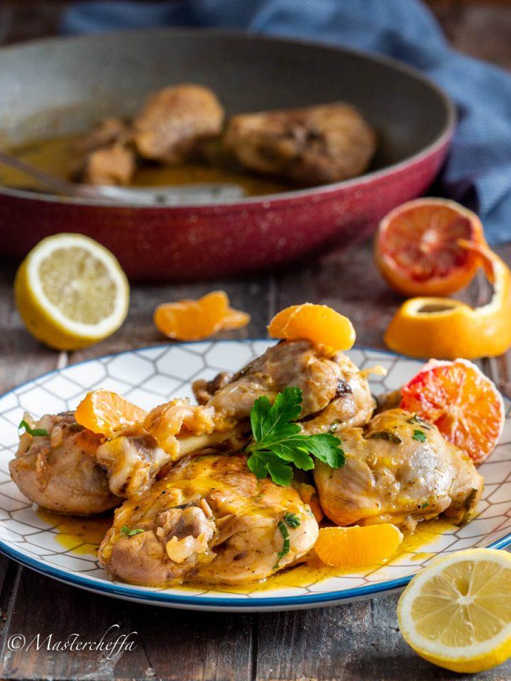 Pollo agli agrumi, cremoso e profumato!