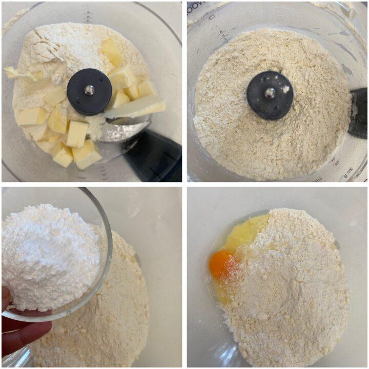 biscottini bicolore passo passo 1