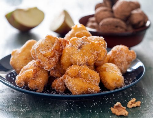 Frittelle di mele e noci – ricetta di Nonna Tina