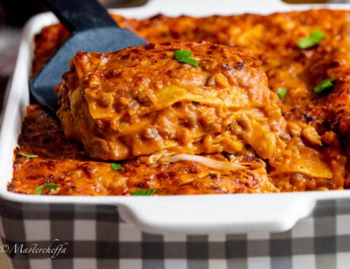 Lasagne alle lenticchie