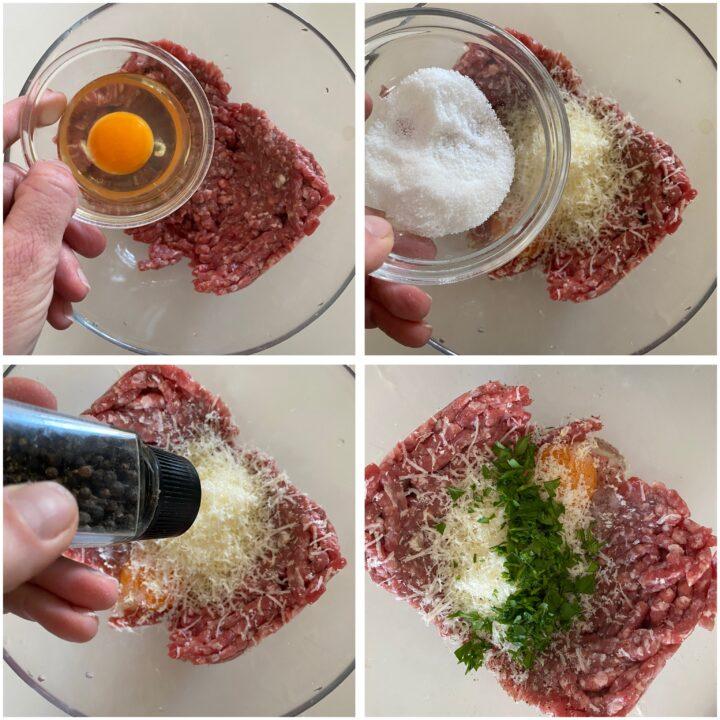 cassatine di carne passo passo 4