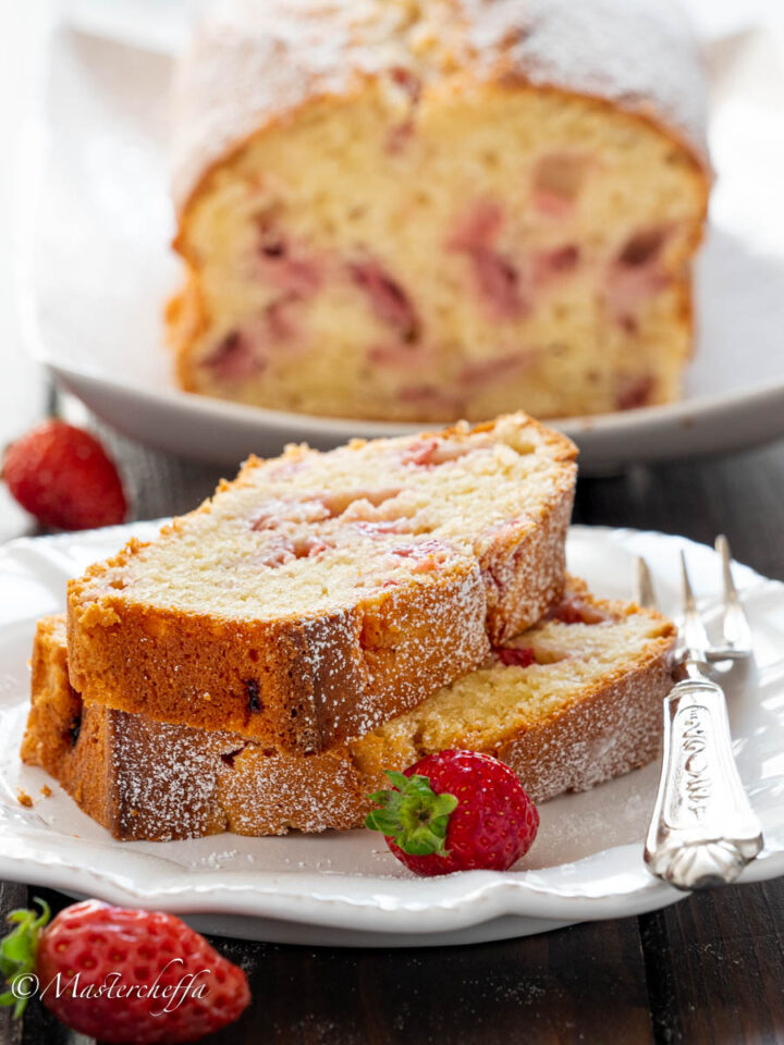 torta al philadelphia con fragole