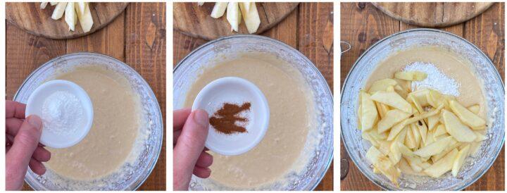 torta di mele passo passo 3