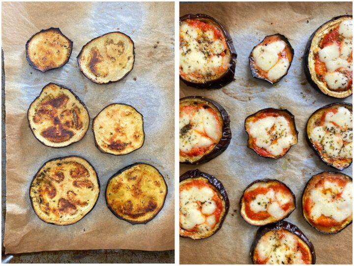 pizzette di melanzane passo passo 2