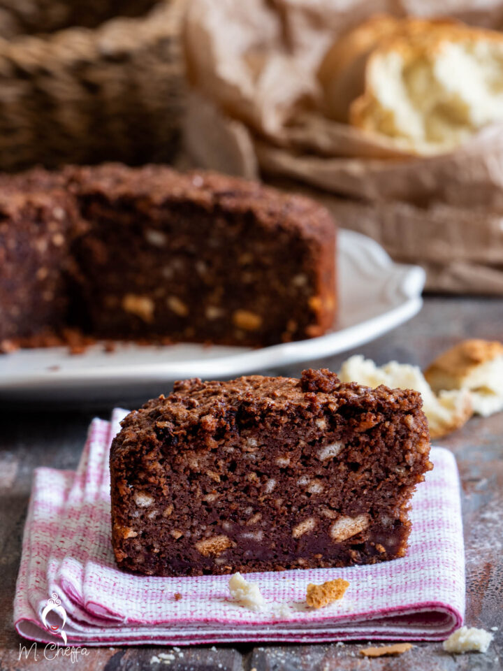 Torta pane e cioccolato