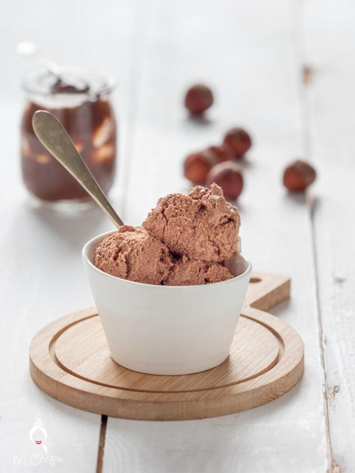 Gelato alla nutella (con soli due ingredienti)