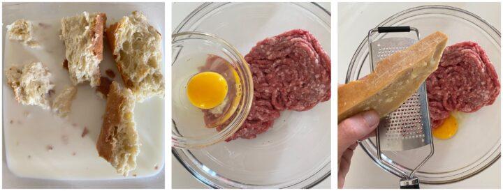 polpette di carne al limone passo passo 1