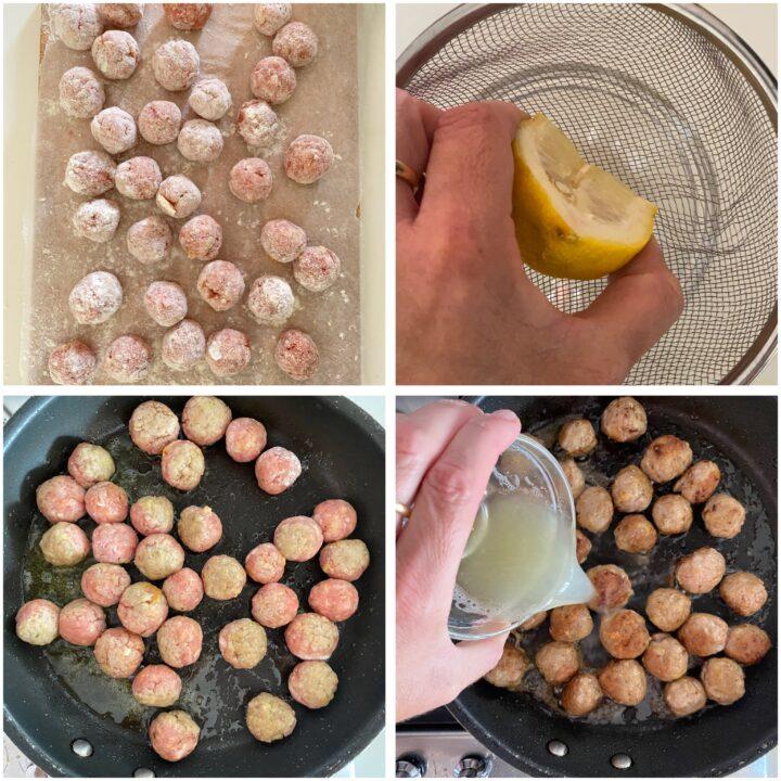 polpette di carne al limone passo passo 4