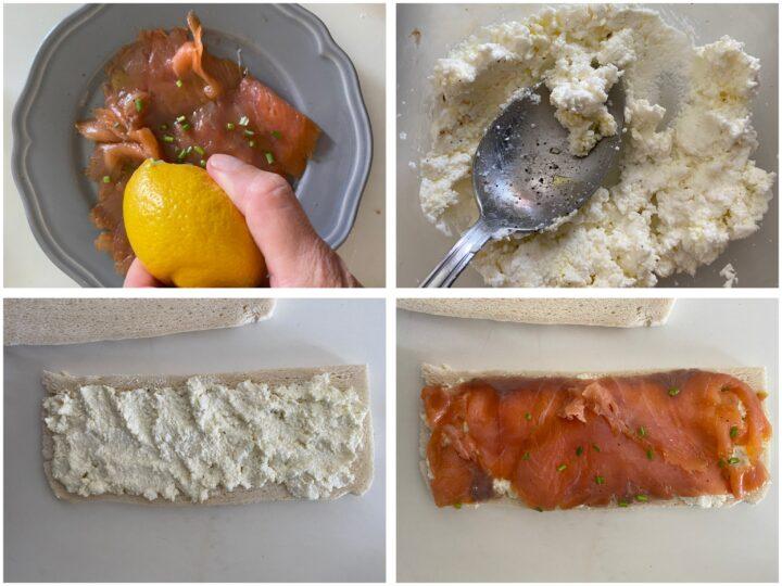 tramezzini con pesce passo passo  3