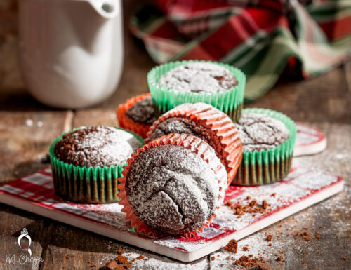 Muffin di biscotti sbriciolati