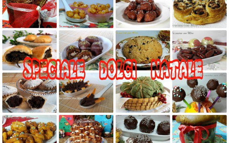 Ricette Dolci Natale-Raccolta Speciale