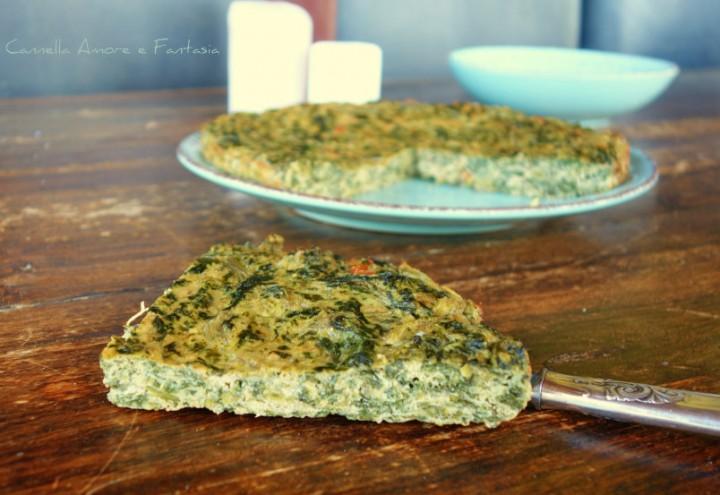 Frittate ricette per tutti i gusti Frittata di erbette e pomodorini secchi