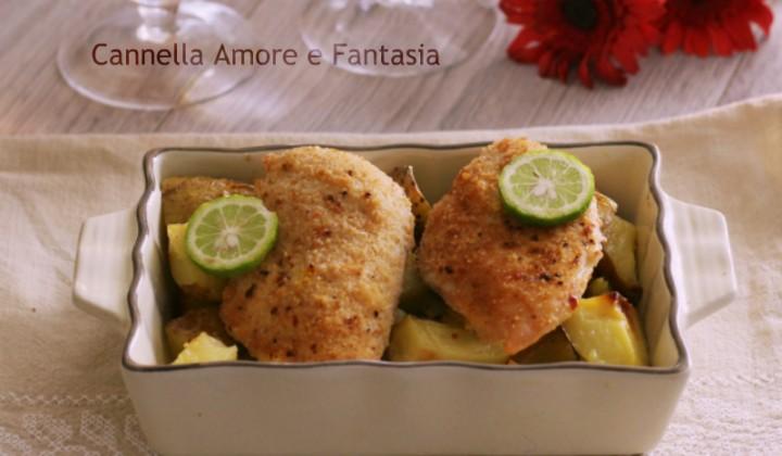 Petto di pollo gratinato al forno fb del blog