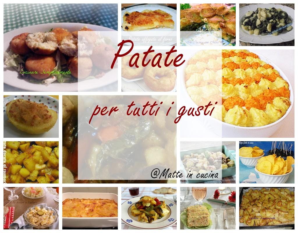 patate ricette deliziose