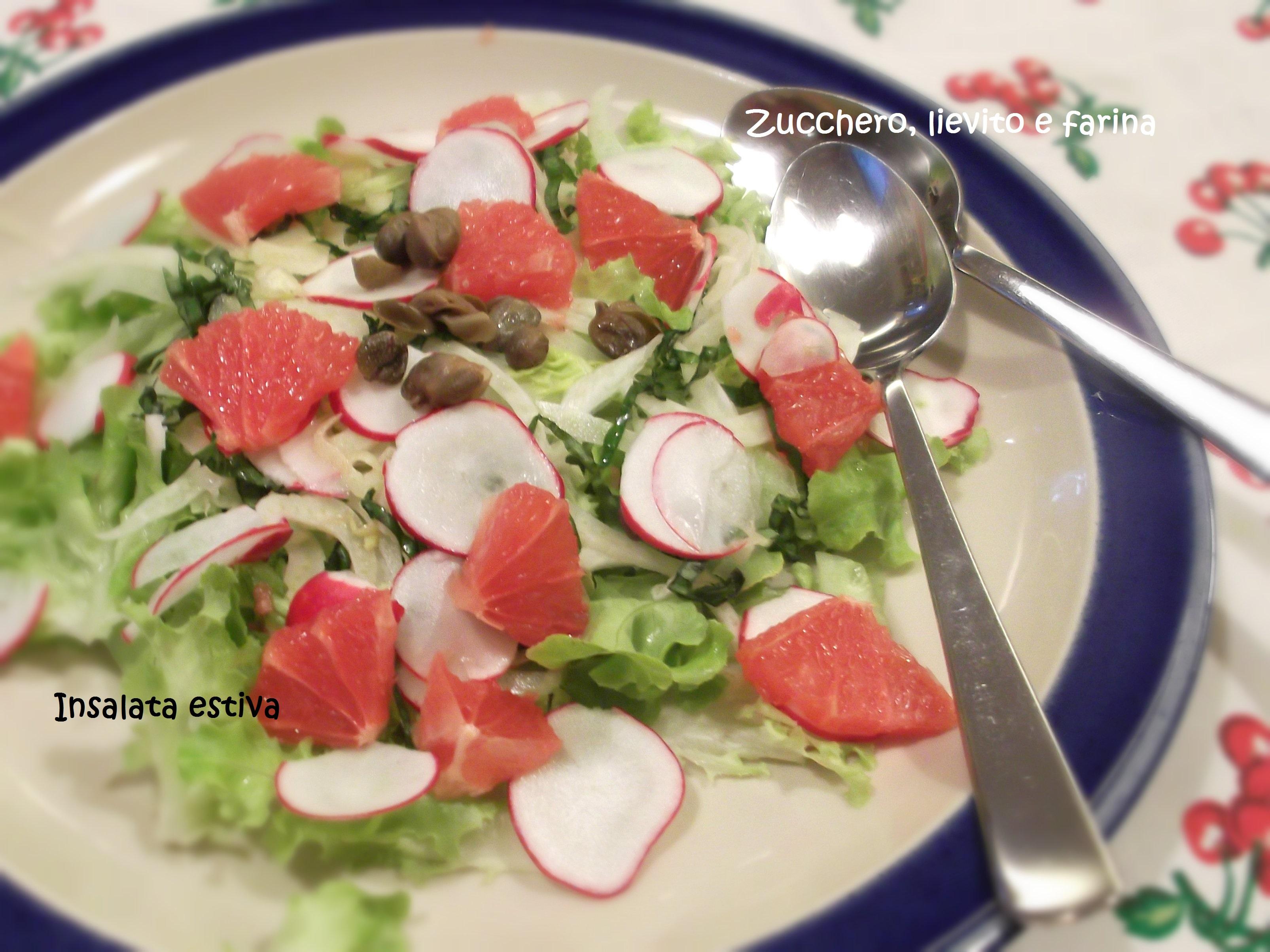 Finocchi - insalata estiva