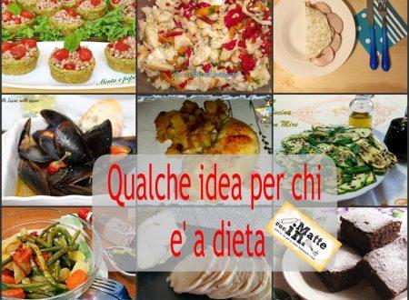 Ricette per la dieta – idee menù