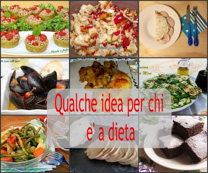 Ricette per la dieta Collage