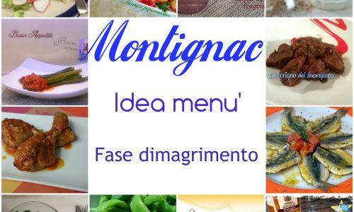 Montignac – idea menù