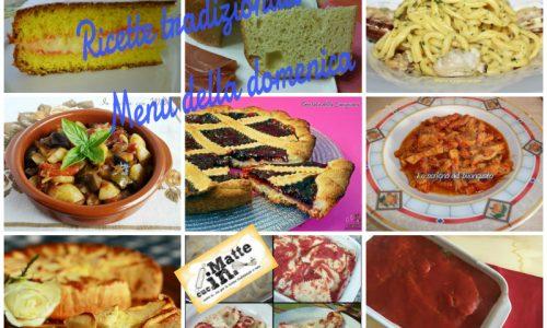 Ricette tradizionali – Menu della domenica
