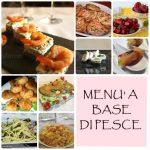 Menù ricette di pesce