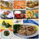 Basso indice glicemico: esempio di menù